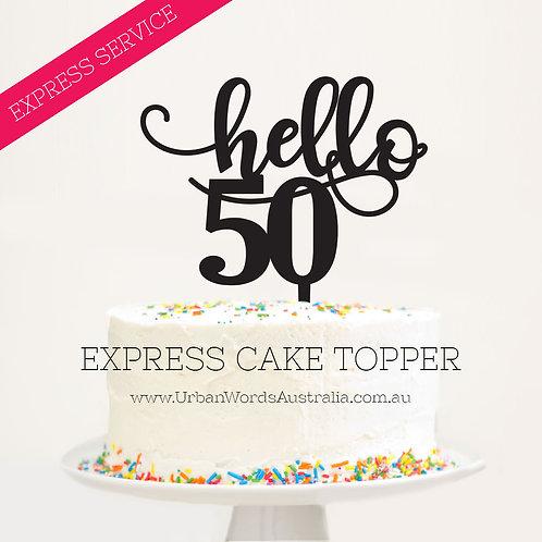 Express - Hello 50