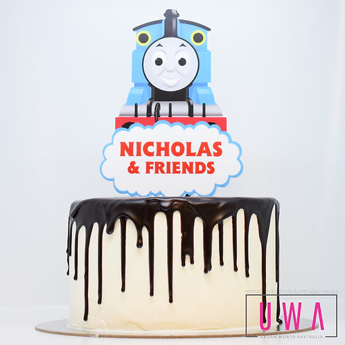 Thomas Train - Personalised Cake Topper