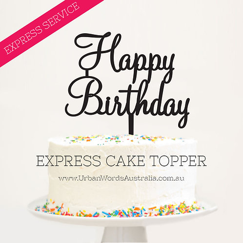 Express - Happy Birthday Scripted