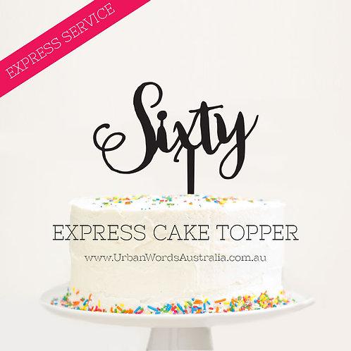 EXPRESS - Sixty - Swirly Font