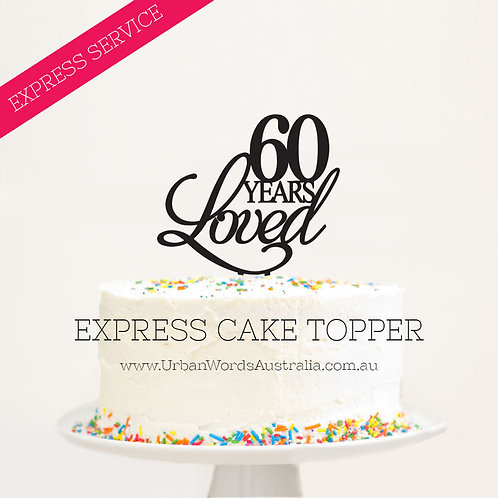 EXPRESS - 60 Years Loved
