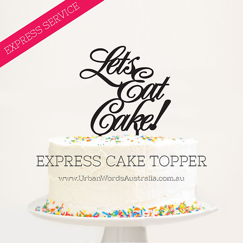 EXPRESS - Lets Eat Cake