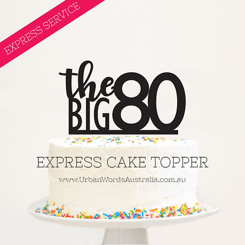 EXPRESS - The BIG 80
