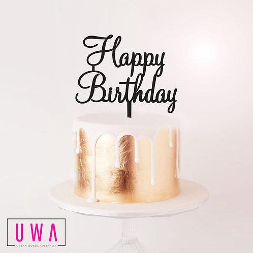 Happy Birthday - Cake Topper