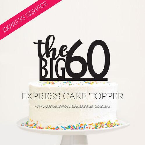 EXPRESS - The BIG 60