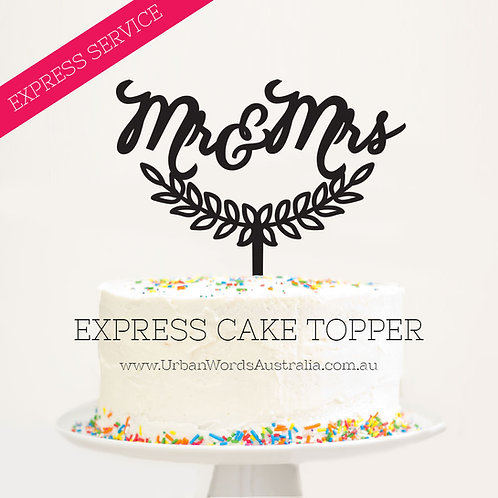 Express - Mr & Mrs Wreath