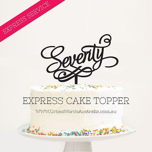 EXPRESS - Seventy with Swirl