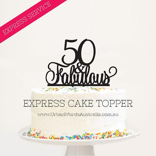 EXPRESS - 50 & Fabulous