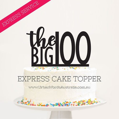 EXPRESS - The BIG 100