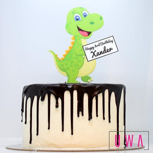 Baby Dinosaur - Personalised Cake Topper