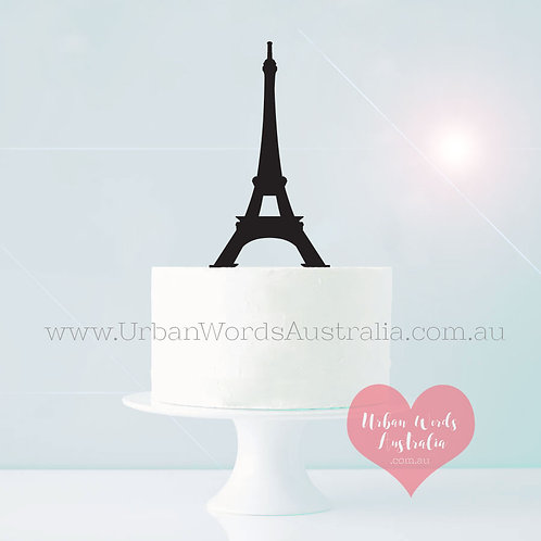 Eiffel Tower - Cake Topper