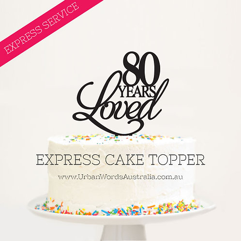 EXPRESS - 80 Years Loved