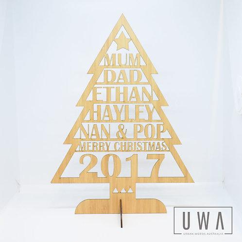 Personalised Christmas Tree - 3