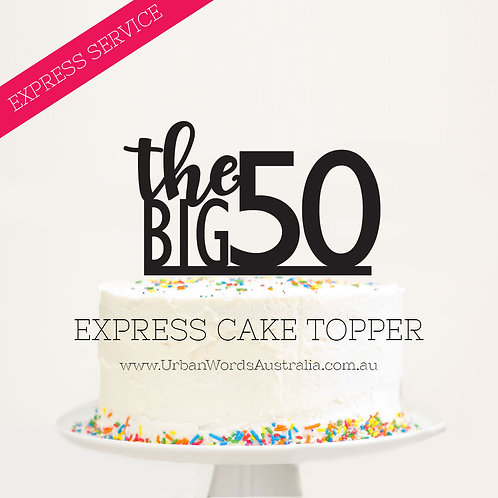 EXPRESS - The BIG 50