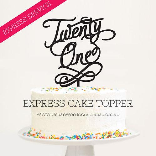 EXPRESS - Twenty One with Swirl