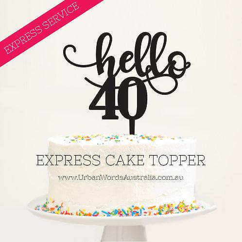Express - Hello 40