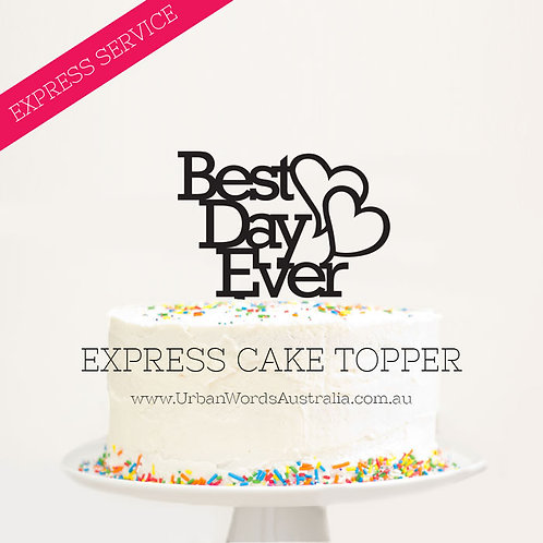 EXPRESS - Best Day Ever with Hearts