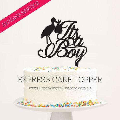 Express - It's a Boy Stork