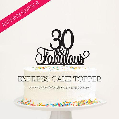 EXPRESS - 30 & Fabulous