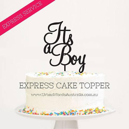 EXPRESS - It's a Boy
