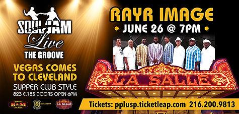 B&M Soul Jam RAYR IMAGE digital poster .