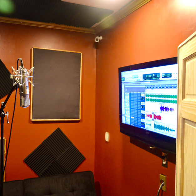 Studio B - Vocal Iso Booth 2