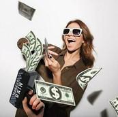 money gun sample