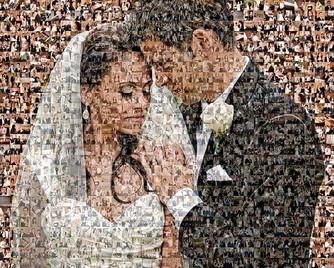 wedding mosaic sample 2