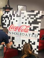 coca cola sample mosaic