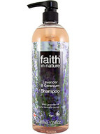 Faith in Nature shampoo haircare no parabens no SLS organic lavender