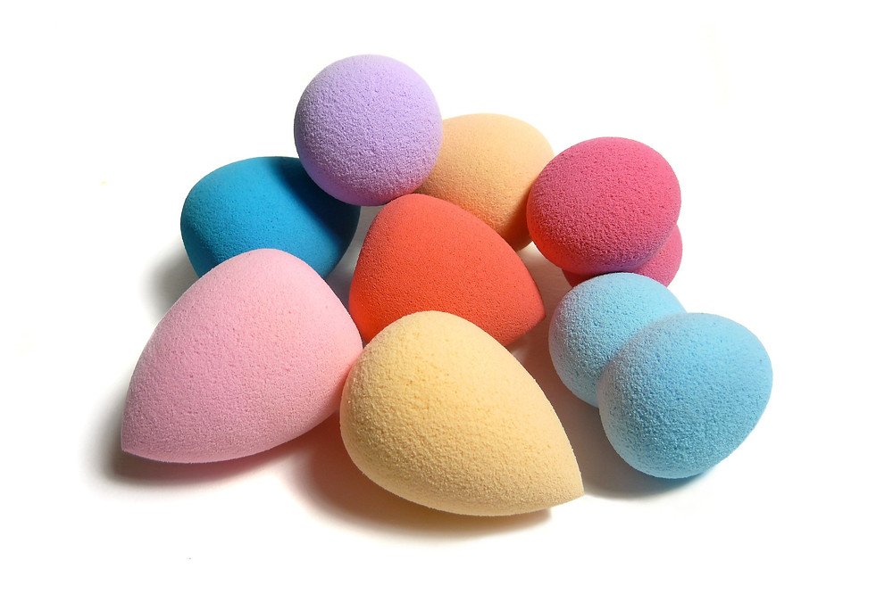 make-up sponge porous sponge make-up application