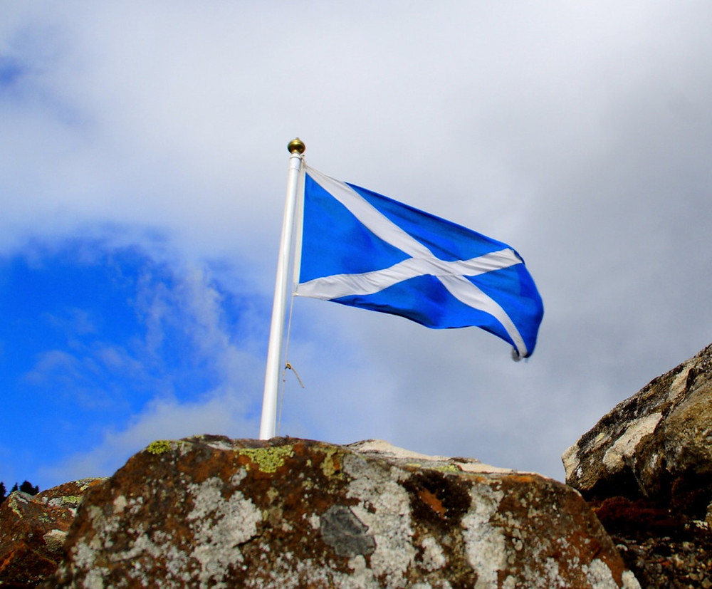 flag scotland travel blog