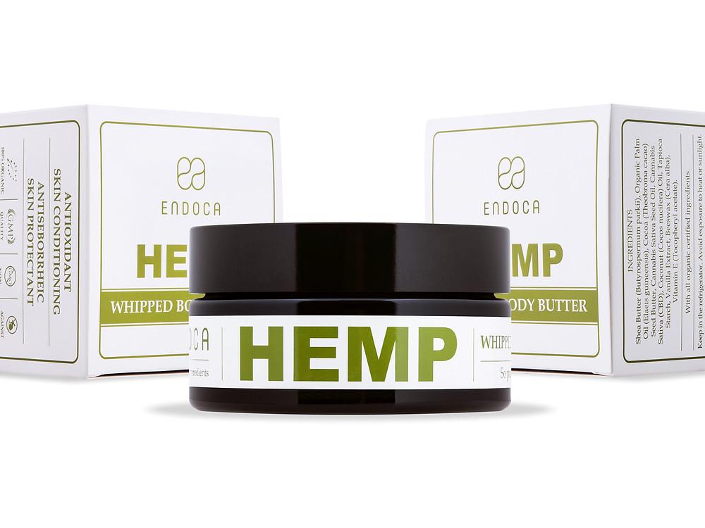 hemp cream cbd endoca skincare cannabis