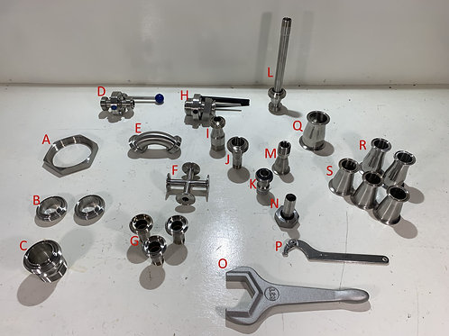 Various Stainless Fittings Sale Items