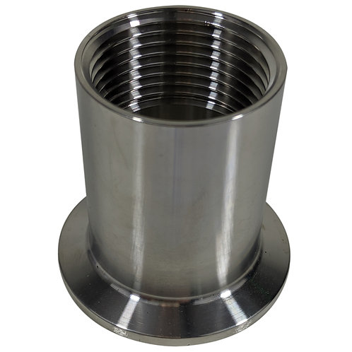 TriClamp to BSP-F 1/4-Inch to 1-Inch Sizes