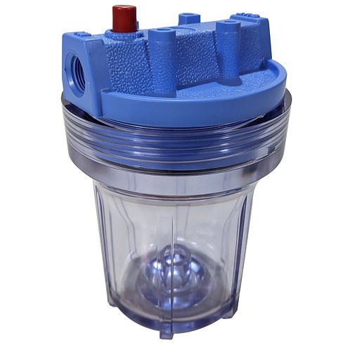 Filter Housing (Clear Plastic) - FT-02c