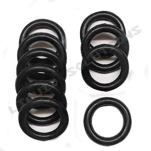 RJT Rubber 0-ring 10 Pack 1/1.5 Inch Sizes