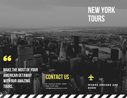 New Yorks Tours Brouchure