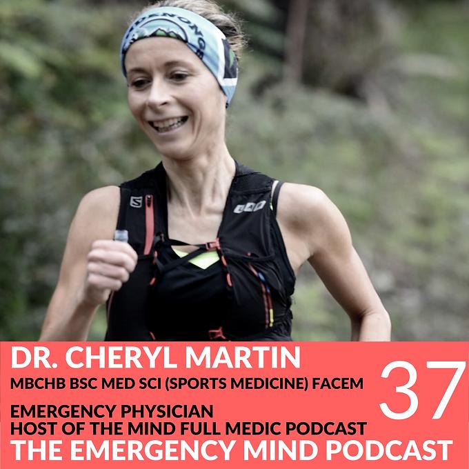 37: Cheryl Martin, MBChB, on Mind Full Medicine