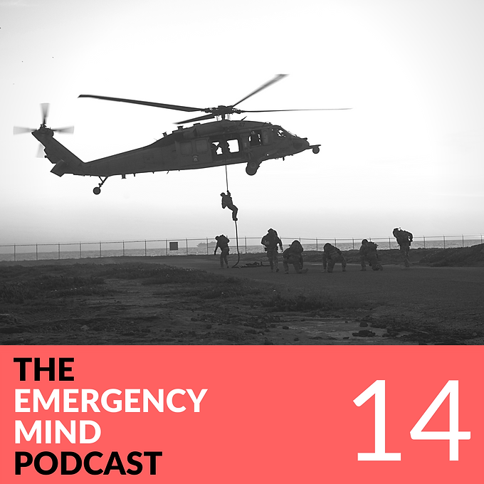 14: Ryan Anderson, Navy EOD Expert, on Standing by for Chaos