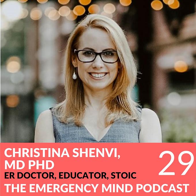 29: Christina Shenvi MD PhD on Raising Your Mean