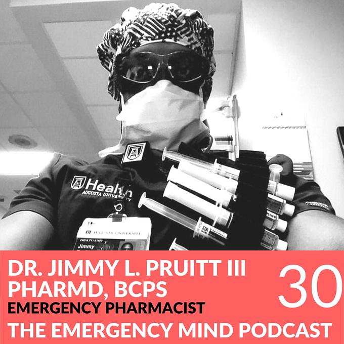 30: Jimmy Pruitt PharmD on Pride in Preparation