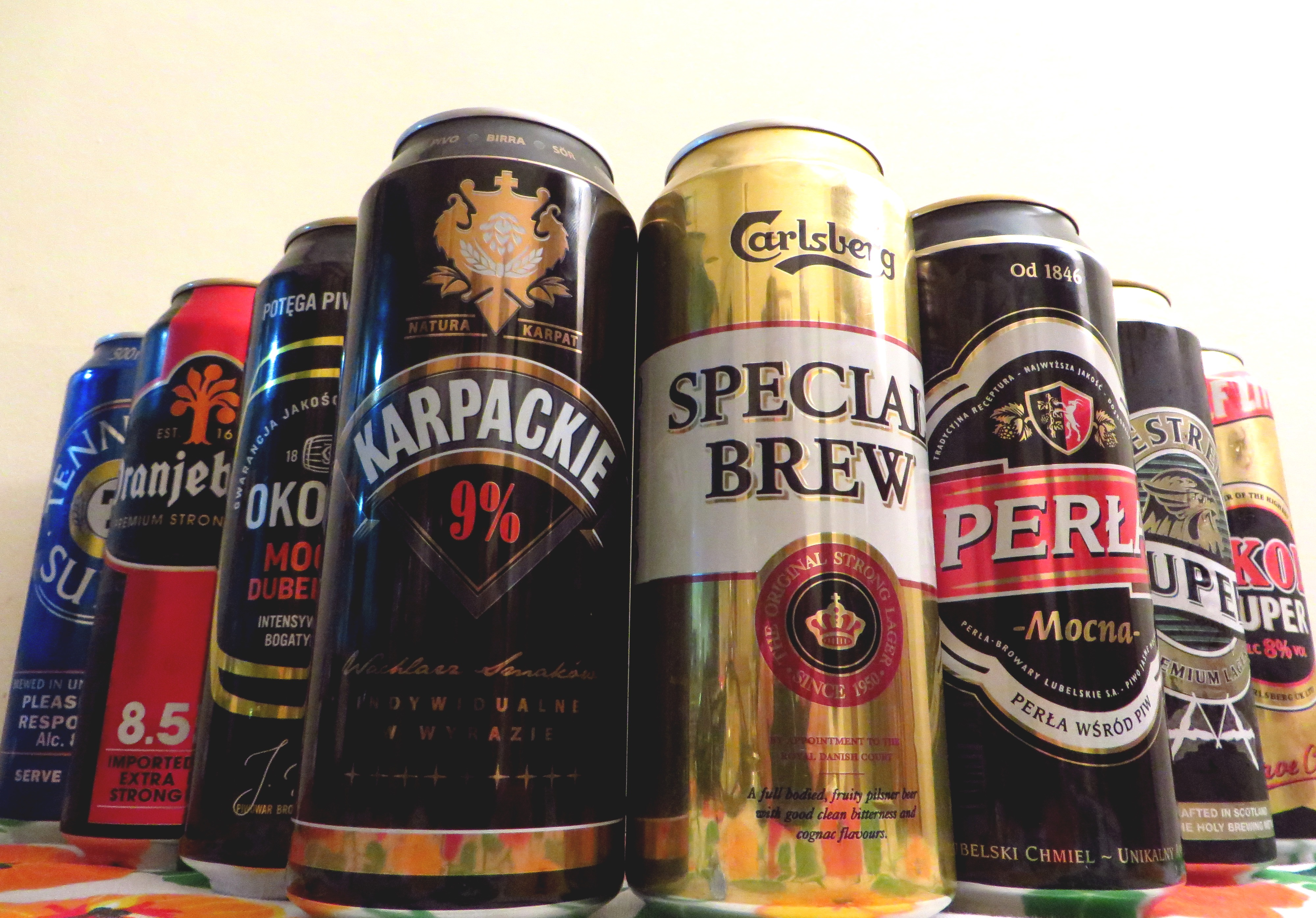The 8 Best Super Strength Lagers We Found In Our Local Off License |  Special Brews MCR | Manchester Student Beer Blog