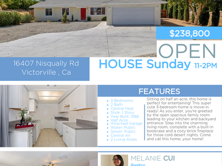 Open House this Sunda!
