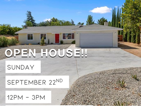 Catch our open house this Sunday!