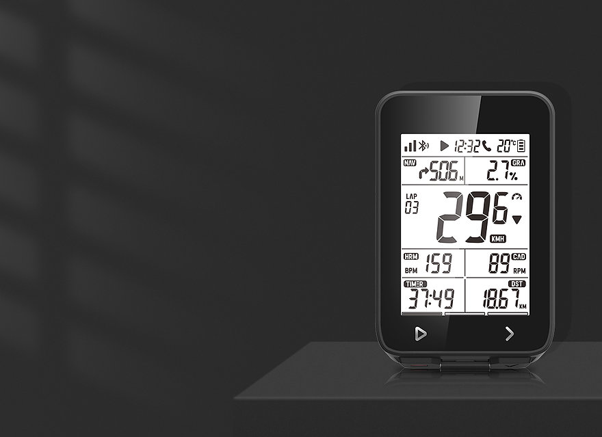 GPS Cycling Computer-iGS320-Function (5)