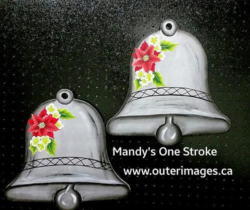 Big Outdoor Silver Bells