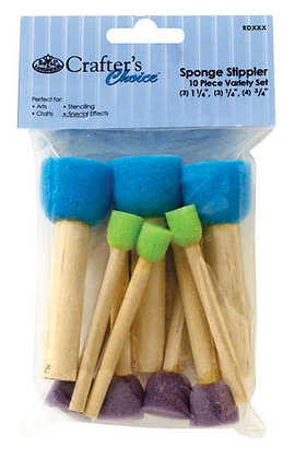 10 pc Sponge Stippler Set