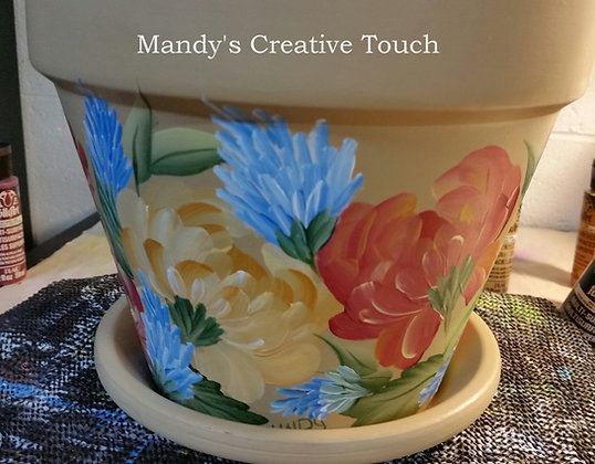 Sand Flower Pot