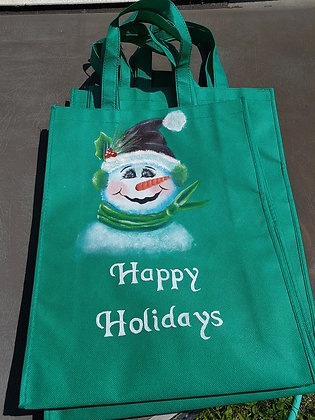 Shopping Bags-  Happy Holidays